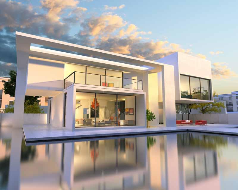 Stunning architectural development