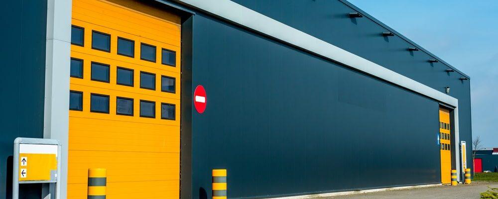 Commercial garage doors various types