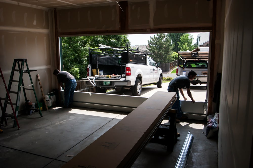 Techniques of a garage door repair
