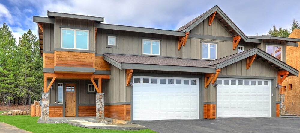 How to design a garage door based on the style of your home