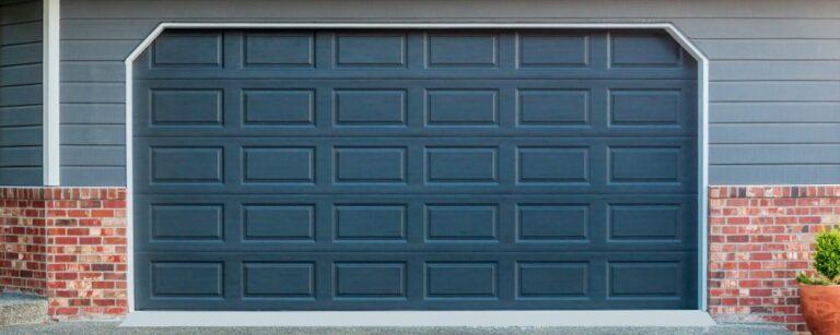 replace the bottom panel on your garage door